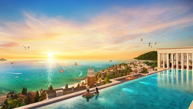bể bơi vô cực sun grand city hillside